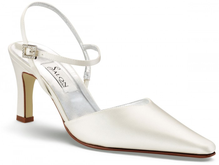 010988 A Breathtaking Collection of White Bridal Shoes for Your Wedding Day