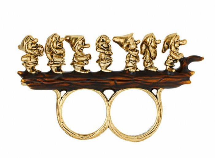2012-New-Arrival-Seven-Dwarfs-gold-two-fingers-rings-font-b-Funny-b-font-personality-jewelry 35 Weird & Funny Gifts for Women