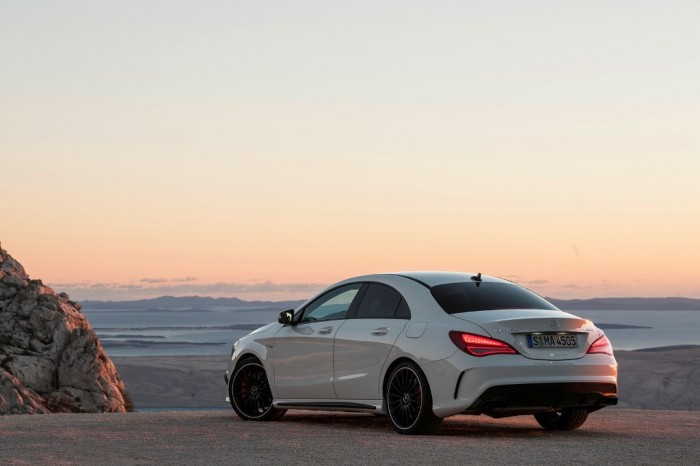 2014-Mercedes-CLA-45-AMG-2 Discover the New Mercedes Benz CLA-Class