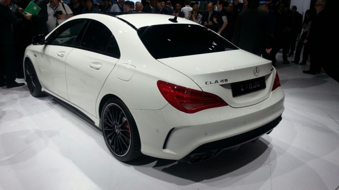 2014-Mercedes-CLA-45-AMG-rear-quarter-left-1024x576 Discover the New Mercedes Benz CLA-Class