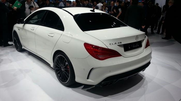 2014-Mercedes-CLA-45-AMG-rear-quarter-left-1024x576 Discover the New Mercedes Benz CLA-Class