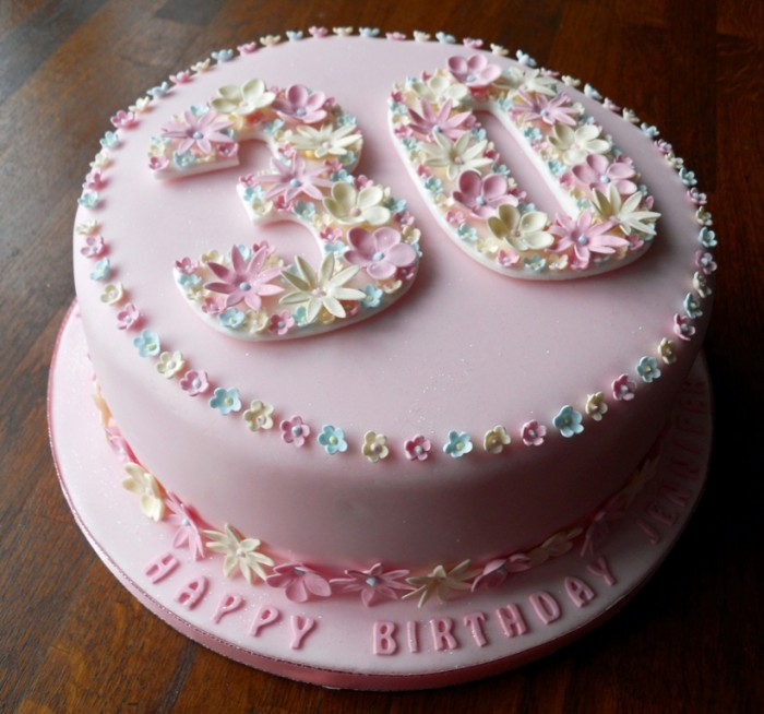 30th-birthday-full-view 60 Mouth-Watering & Stunning Happy Birthday Cakes for You