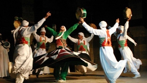 588 Get Inspired While Watching A Live Show Of Tanoura Dance Performance