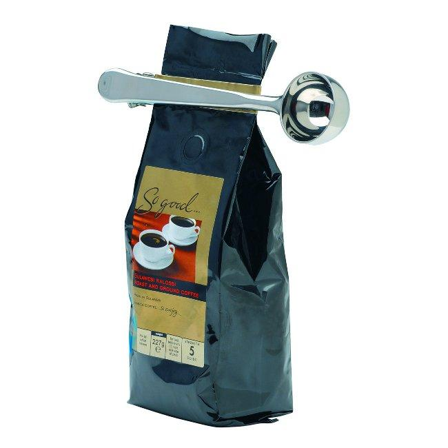 85159-1_coffee_scoop_clip_bag 15 Fascinating & Unusual Christmas Presents