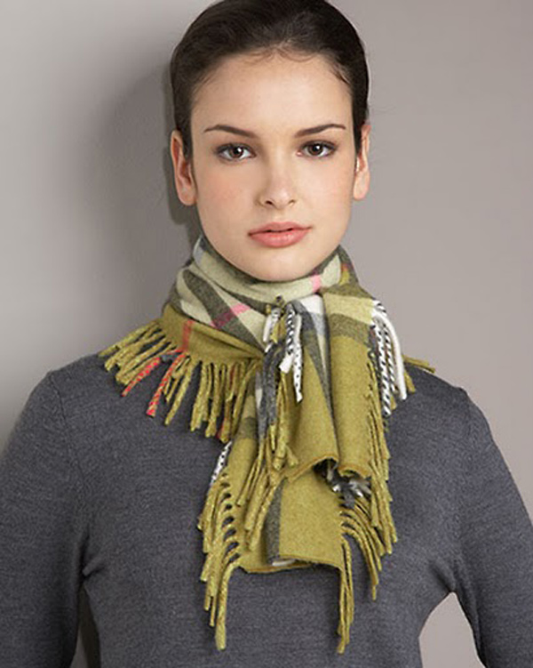 And-Gray-Burberry-Cashmere-Check-Women-Scarves-241 48+ Best Christmas Gift Ideas for Your Wife