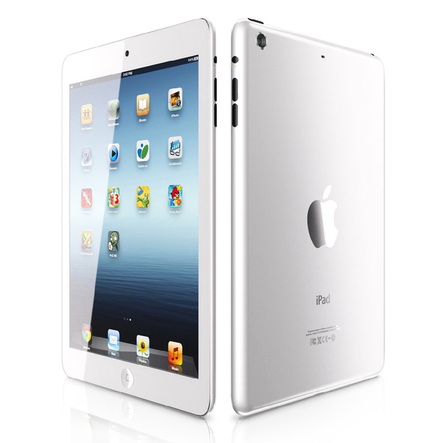 Appleipad6white-900_MBMOBAPP00006_MASTER_1 iPad 5 Is Improved to Be Lighter, Smaller and Thinner than Other iPads