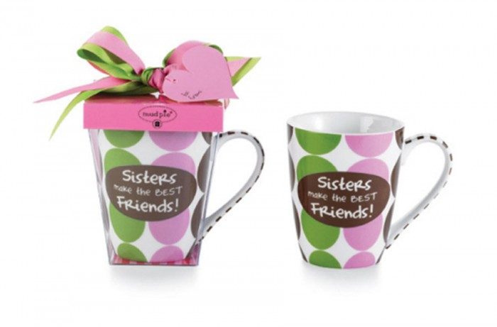 Beauty-Love-Mugs-Design-for-Romantic-gift-Ideas-by-Mud-Pie-Sisters 10 Fabulous & Gorgeous Sister Gift Ideas