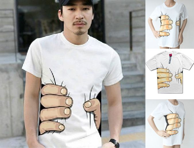 Big-Hand-Printed-T-shirt 15 Fascinating & Unusual Christmas Presents