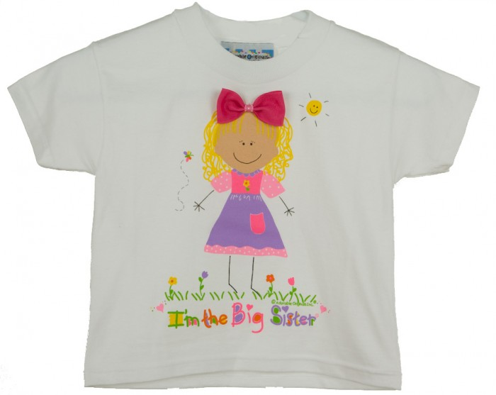 Big-Sister-T-Shirt-Blonde-Hair-AO9004 10 Fabulous & Gorgeous Sister Gift Ideas