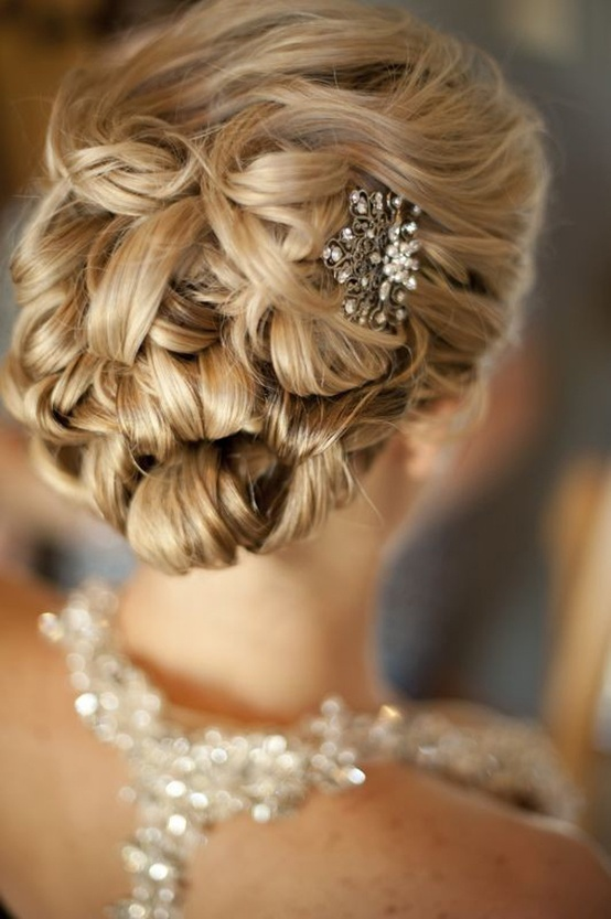 Bridal-Hairstyles-Wedding-Updos-27_original 50 Dazzling & Fabulous Bridal Hairstyles for Your Wedding
