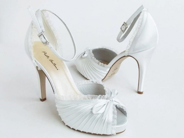 Bridal-Shoes A Breathtaking Collection of White Bridal Shoes for Your Wedding Day