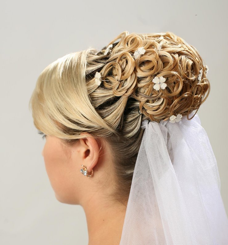 Brides-Hairstyles 50 Dazzling & Fabulous Bridal Hairstyles for Your Wedding