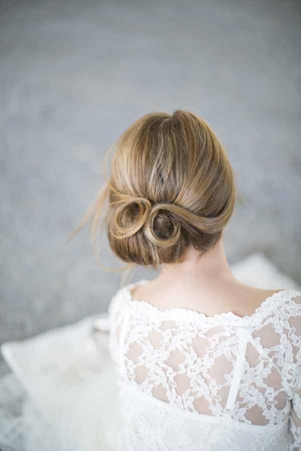 Chignon-Bun 50 Dazzling & Fabulous Bridal Hairstyles for Your Wedding