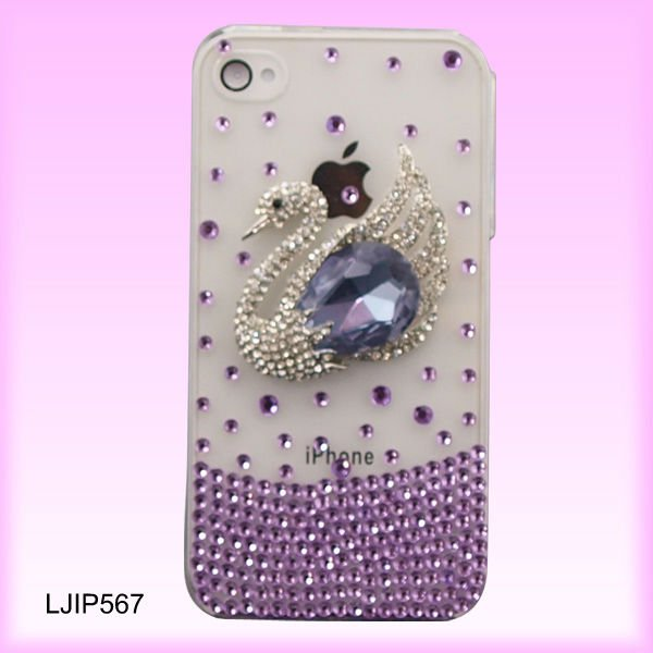 Diamond_Mobile_Cover_for_iPhone 50 Fascinating & Luxury Diamond Mobile Covers for Your Mobile