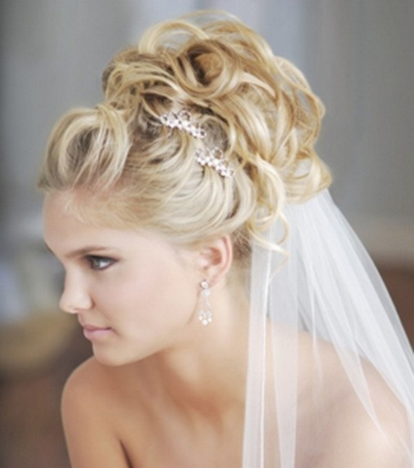 Elegant-Hairstyles-For-The-Brides-0 50 Dazzling & Fabulous Bridal Hairstyles for Your Wedding