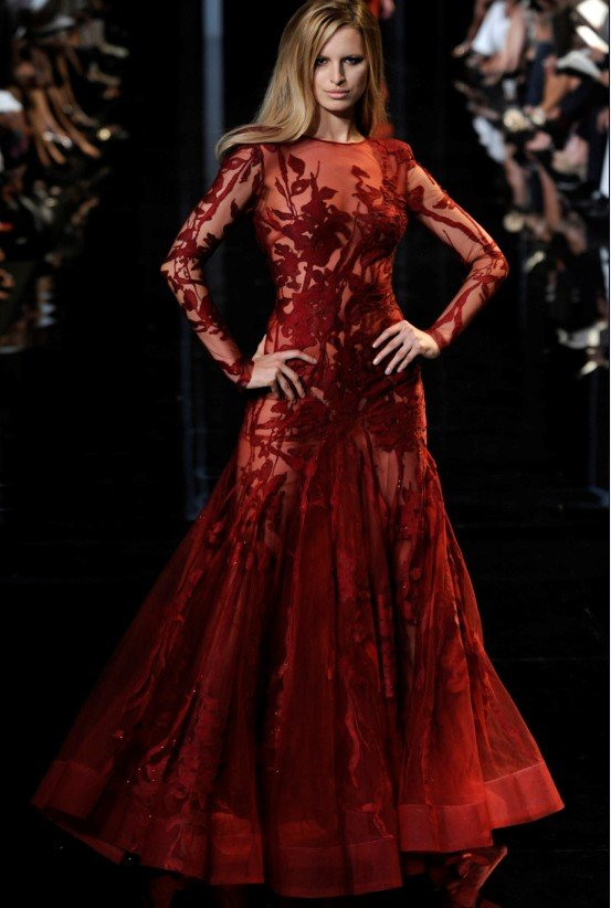 Elie-Saab-fashion-designer-font-b-long-b-font-font-b-sleeve-b-font-embroidery-floor 48+ Best Christmas Gift Ideas for Your Wife