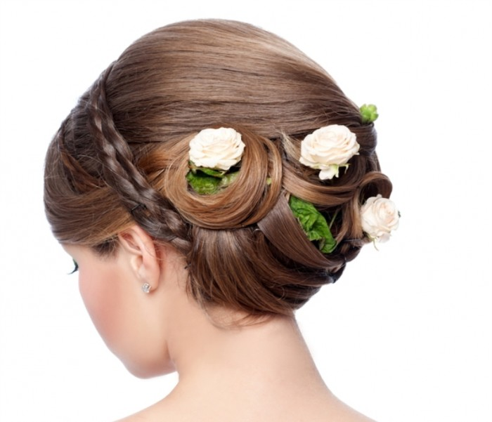 Fashion-Wedding-Hairstyle-Bride 50 Dazzling & Fabulous Bridal Hairstyles for Your Wedding