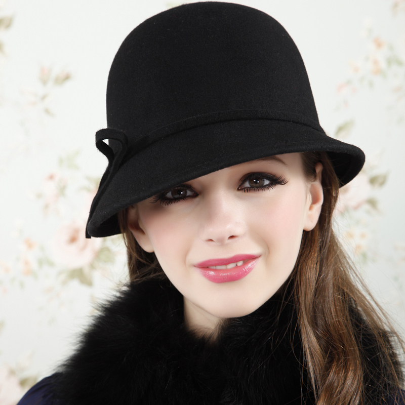 Fashion-woolen-cap-spring-and-autumn-winter-fedoras-winter-hats-for-women 2017 Christmas Gift Ideas for Your Wife