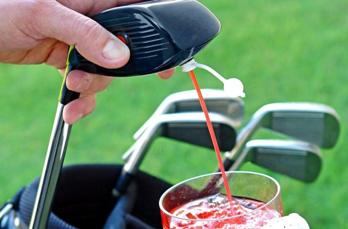 Fathers-Day-Gift-Guide-Golf-Club-drink-dispenser-2 11 Tips on Mixing Antique and Modern Décor Styles