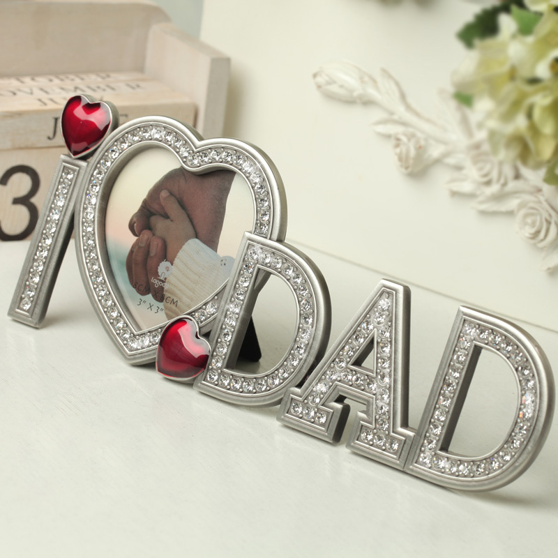 Free-shipping-Father-s-Day-font-b-Gifts-b-font-The-metal-diamond-I-L0VE-font 50 Unique Gifts for Father's Day