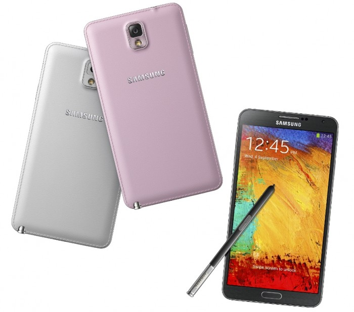 GALAXY_Note_3 Samsung Releases Its Samsung Galaxy Note 3 to Be Lighter & Thinner