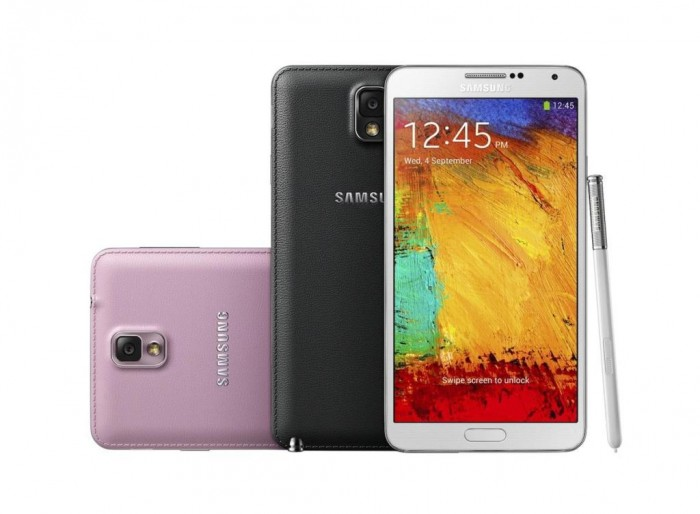 Galaxy-Note-3-Colors Samsung Releases Its Samsung Galaxy Note 3 to Be Lighter & Thinner