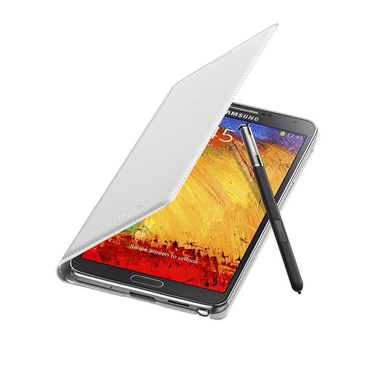 Galaxy_Note_3_with_white_cover Samsung Releases Its Samsung Galaxy Note 3 to Be Lighter & Thinner