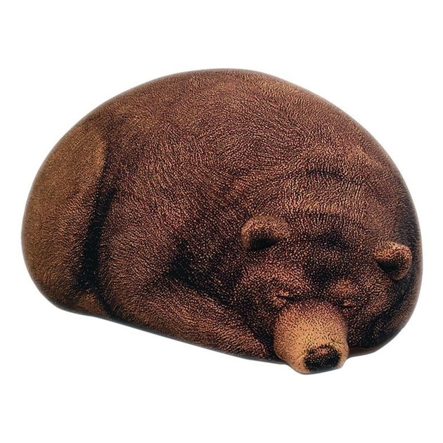 Giant-Knitted-Grizzly-Bear-Bean-Bag-3 15 Fascinating & Unusual Christmas Presents