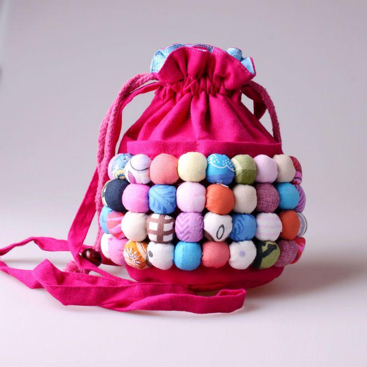Handmade-national-trend-jelly-portable-mini-messenger-bag-coin-purse-cloth-women-s-handbag-small-bags 10 Stunning & Fascinating Homemade Xmas Gifts
