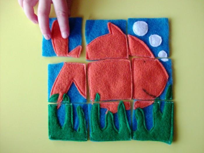 Homemade-Gift-Felt-Puzzles-Fish-1024x768 10 Stunning & Fascinating Homemade Xmas Gifts