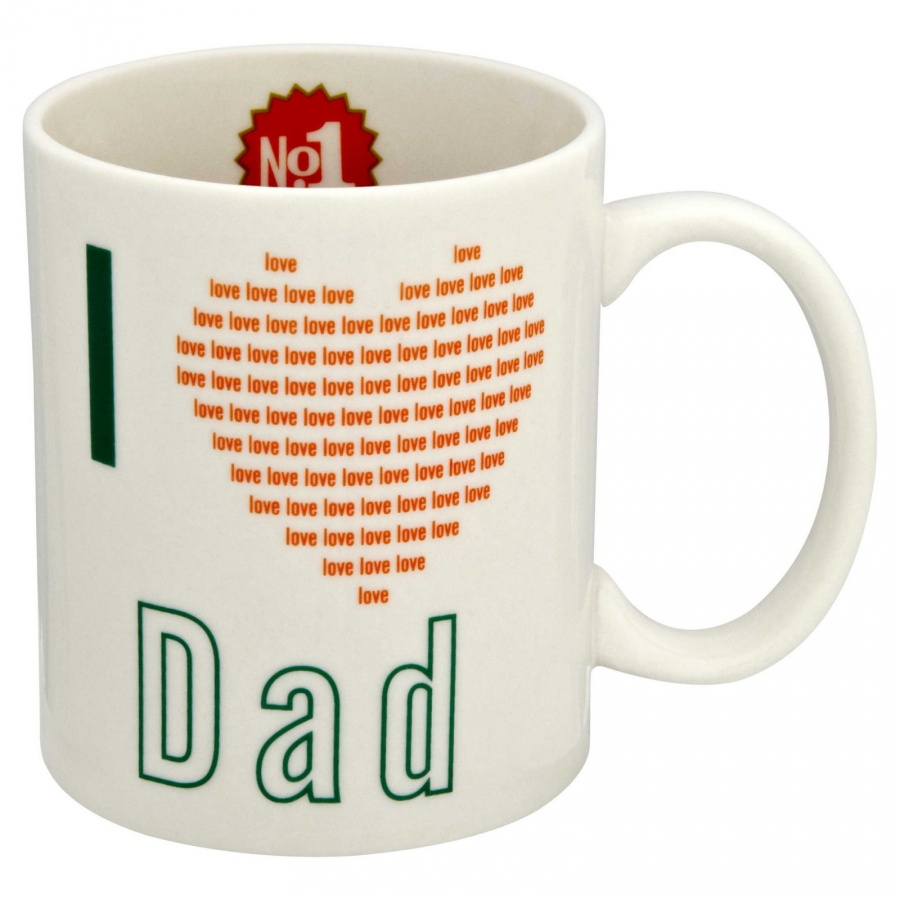 I-Love-Dad-Mug The Best 10 Christmas Gift Ideas for Your Daddy