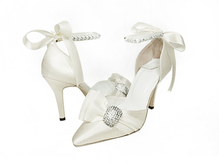 Ivory-Bridal-Wedding-Shoes-Lene A Breathtaking Collection of White Bridal Shoes for Your Wedding Day