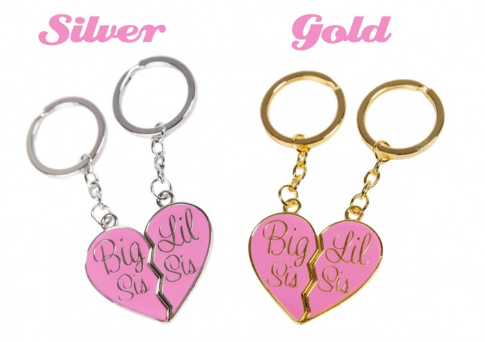KeyChains-GGShop 10 Fabulous & Gorgeous Sister Gift Ideas