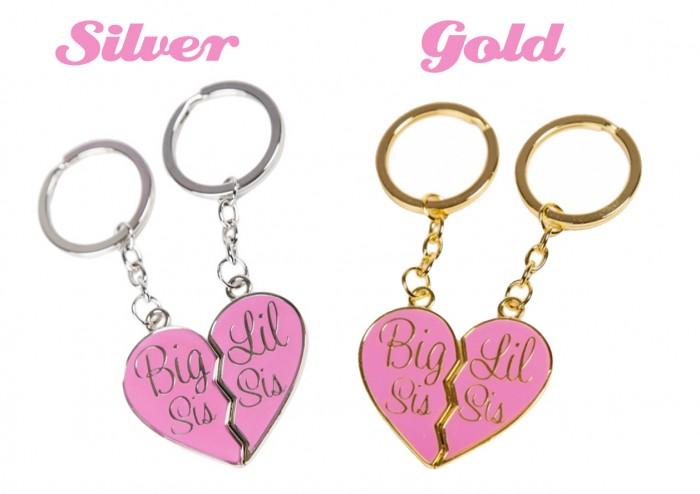 KeyChains-GGShop 10 Fabulous & Gorgeous Sister Gift Ideas