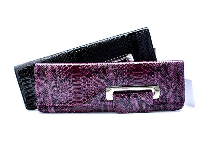 Ladies-Purple-PU-Snake-Leather-Evening-Bags-Day-clutches-wedding-purse-women-party-bag-wedding-bag 2017 Christmas Gift Ideas for Your Wife