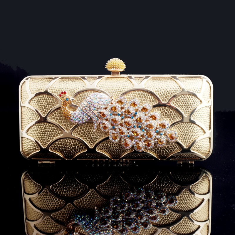 Luxury-day-clutch-fashion-peacock-diamond-clutch-everta-evening-bag-banquet-bag-cheongsam-bag-female-bags 50 Fabulous & Elegant Evening Handbags and Purses