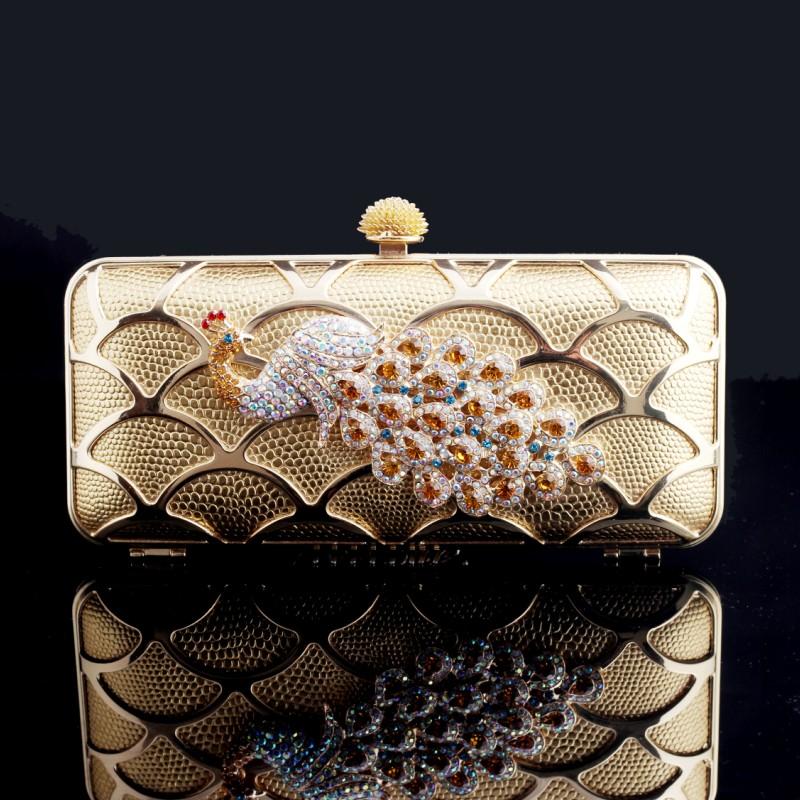 Luxury-day-clutch-fashion-peacock-diamond-clutch-everta-evening-bag-banquet-bag-cheongsam-bag-female-bags 50 Fabulous & Elegant Evening Handbags and Purses