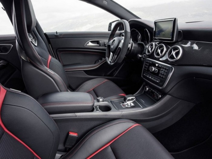 Mercedes-CLA-45-AMG-2014-interior-1 Discover the New Mercedes Benz CLA-Class