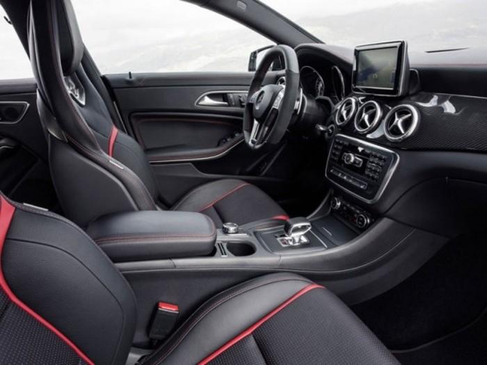 Mercedes-CLA-45-AMG-2014-interior-1 Discover the New Mercedes Benz CLA-Class