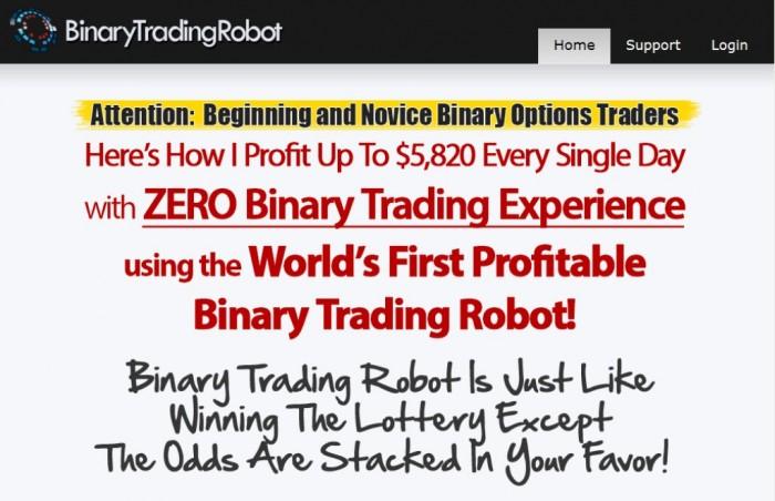 Binary trading robot jerry bieber