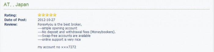 New-Picture7 Forex4you Offers 9 Accounts to Meet Different Trading Sizes