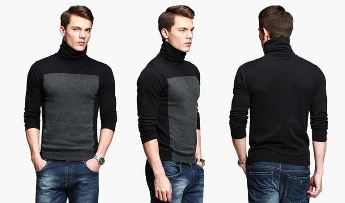 New-arrival-cotton-100-Hit-color-Classic-font-b-Men-s-b-font-brand-fashion-turtleneck 10 Amazing Xmas Gifts for Your Husband