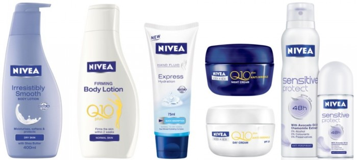 Nivea_Skin_Care_Products_Group 48+ Best Christmas Gift Ideas for Your Wife