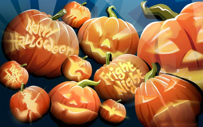 Orange-Pumpkins-Happy-Halloween-Night Oh My God! Did You Hear Such a Scary Voice Before?
