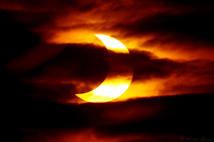 Partial-Solar-Eclipse-HD What Is The Solar Eclipse And Its Types?!