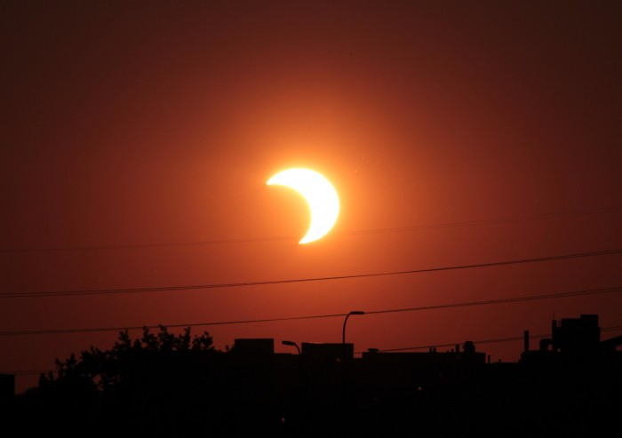 Partial_solar_eclipse_may_20_2012_Minneapolis_Minnesota_tlr1 What Is The Solar Eclipse And Its Types?!