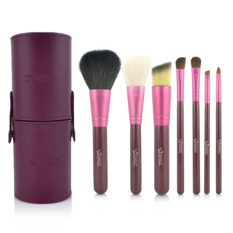 Portable-7pcs-professional-Makeup-Brushes-Tools-Eyeshadow-Brushes-Set-Cosmetics-brushes-for-makeup-makeup-kit-free 2017 Christmas Gift Ideas for Your Wife
