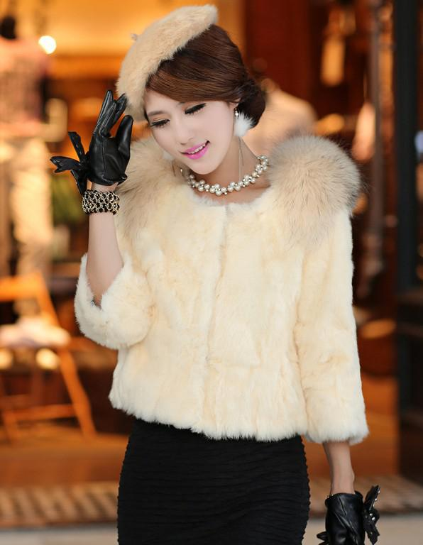 Pretty-Lady-Clothing-Fur-Clothing-Women-Fashionable-Animal-Fur-Clothing-Fur-Coats 48+ Best Christmas Gift Ideas for Your Wife