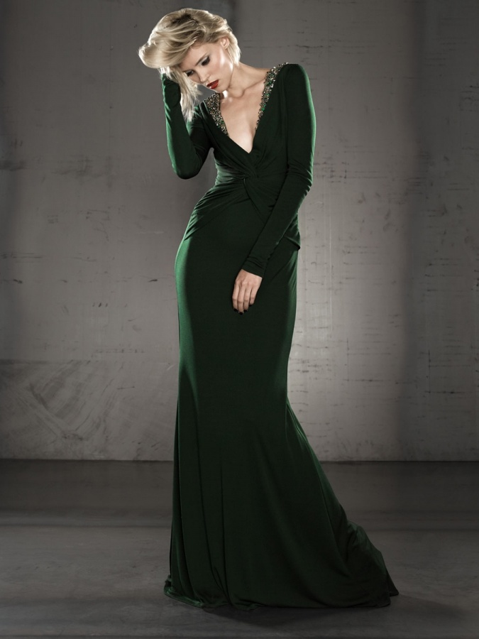 Prom-Dresses-Evening-Dresses-Long-Sleeve-Jersey-Gown-SG8236-01 48+ Best Christmas Gift Ideas for Your Wife