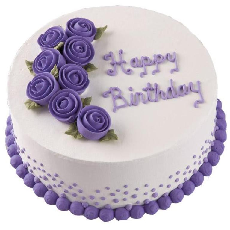PurpleHappyBirthdayCake-1 60 Mouth-Watering & Stunning Happy Birthday Cakes for You